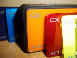 Frontales intercambiables de la ActiveON CX